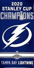 Tampa Bay Lightning 2020 Champion Flag 3x5 Stanley Cup Blue Vertical NHL