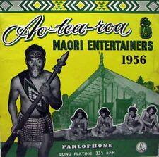 """AOTEAROA MAORI CONCERT PARTY 1956 10"""" Mono LP"""