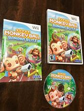 Super Monkey Ball: Banana Blitz Nintendo Wii Video Game Tested