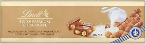 Lindt Giant Swiss Milk Chocolate and Hazelnut Gold Bar 300g