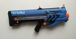 Nerf Rival MXI 1200 Motorized Blaster 12 Genuine Nerf Ammo Balls #Blue Team No1
