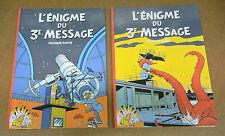 TINTIN - HOMMAGE - L'ENIGME DU TROISIEME MESSAGE -T1 & T2 (COMME NEUF)