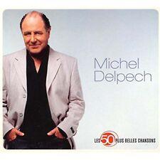 MICHEL DELPECH LES 50 PLUS BELLES CHANSONS 3 CD NEW