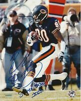 Bernard Berrian Chicago Bears Autographed 8x10 Football Photo With Inscription