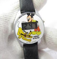 MICKEY MOUSE & PLUTO, Disney, Digital,1 unresponsive #, Lady's/Kid's WATCH, 1046
