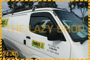 Weathershields, Weather Shields for Toyota Hiace 92-05 Window Visors