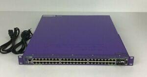 EXTREME NETWORKS 16301 SUMMIT X480-48T 48x GIGABIT BASE-T SWITCH DUAL AC LICENSE