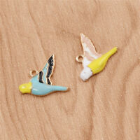 5 Pcs Birds Beads Pendant Set For Jewelry Necklace DIY Marking Accessoreies