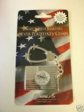 """State Series Quarters Silver Plated Key Chain """"New"""""""