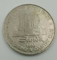 Casino $1 Gaming Token Sands Atlantic City 1988