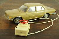 60er Vintage Mercedes Benz 450SE Rico Kabelfernsteuerung Retro Spielzeug 70er