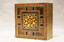 Jewellery Box Wood Box, Small Box Craft , New, K 1-3-01