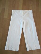 RUBBER DUCKY PRODUCTIONS Off White Capris Pants Size L