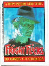 FRIGHT FLICKS TRADING CARDS SINGLE  #1-90 YOU PICK 1988 TOPPS