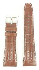 Seiko Velatura Yachting Timer Brown Watch Strap 4A471 SRH011P1 Band SPC041P1