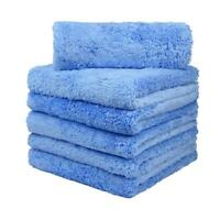 Plush Microfiber Edgeless Towel 40*40cm Scratch Free For Auto Washing Super