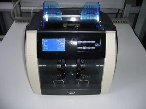Banknotenzählmaschine BellCount V510 EZB - zertifizierte Falschgelderkennung Neu