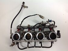 98 99  Suzuki GSXR 750 carbs throttle bodies fuel