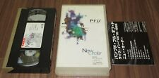 PROMO issue! Japan OFFICIAL VHS video tape NEW ORDER PFD Live In Tokyo NTSC