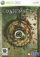 Xbox 360 - Condemned 2 (Original Release) **New & Sealed** Official UK Stock