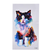 Sexy Cat Waterproof Temporary Tattoo Stickers Necklace Bracelet Tattoo TR