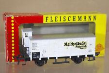 FLEISCHMANN 1484r DB REICHELBRAU Bayern Bierwagen Vagón cerveza 114339 EN CAJA