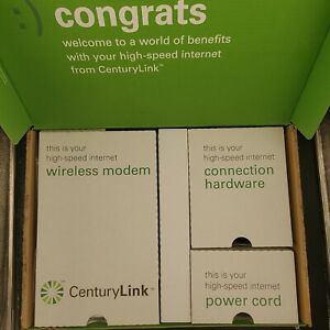 NEW! Actiontec CenturyLink C1000A 40 Mbps 4-Port Wireless N Router Gigabit Modem