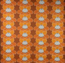 1970s Sixties Original Pop Art Floral Sunshine Suzy Wallpaper