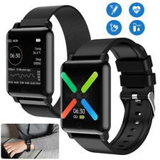Smart Watch Body Temperature Heart Rate Blood Pressure Monitor Sport Wrist Watch