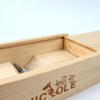 Nicole Abrade Soaps Beveler Planer Wooden Box for Handmade Soap Making Tools