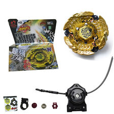 Hell Kerbecs Fusion Metal Master Rapidity 4D Beyblade BB99 + Power Launcher EC