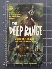 The Deep Range - Arthur C. Clark 1st Signet Edition Paperback S1583 1958