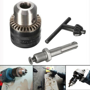 """For SDS Plus Chuck Adaptor Rotary Hammer Drill Tool 1.5-13mm Thread 1/2""""-20UNF *"""