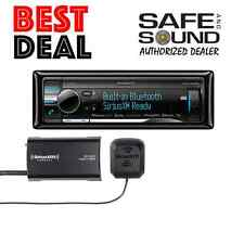 Kenwood eXcelon Kdc-X898 Car Stereo Kdcx898 + Sxv300 Sat Radio Tuner