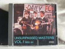 THE BEATLES - UNSURPASSED MASTERS VOL. 1 1962 - 63 CD NEAR MINT UT CD 001