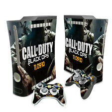 New Call of Duty  Skin Sticker for XBox 360 fat 1 Console 2 Controllers