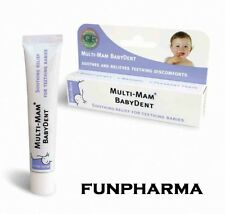 Multi Mam Babydent, Teething Baby Gel 15ml - 1st Class Shipping