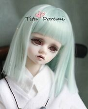 1 3 8-9 Bjd Wig Dal Pullip DOC DD BJD SD DOD LUTS DOC Dollfie Doll wigs Green