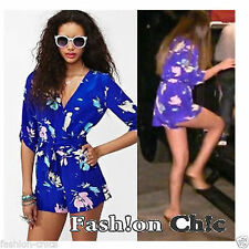 Floral Chiffon Jumpsuits for Women