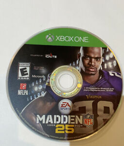 Madden NFL 25 (Microsoft Xbox One, 2013) Disc Only