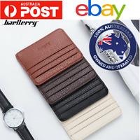 Men women nurse security wallet slim id opal credit card case holder Australia