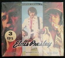 ELVIS PRESLEY Triple Feature [Digipak] (CD 2009 3 Disc Set) *SEALED*