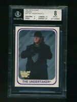 1991 Merlin WWF WWE The Undertaker RC Rookie BGS 8