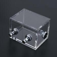 200ml Water Tank for PC Water Cooling System w/ Fittings Blcok G1/4 Reservoir