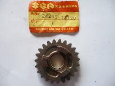 PIGNON BOITE MOTO CROSS SUZUKI 125 RM 1983  ( 6eme 23 dents) REF:24260-14120