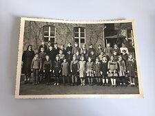 original Foto - vintage PHOTO - Schulklasse Klassenfoto Lehrerin 15,5 x 10,5 cm