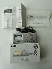 2000 Mint Box New Korg Ot-12M Reference Orchestral Tuner Chromatic 2 Aa Battery