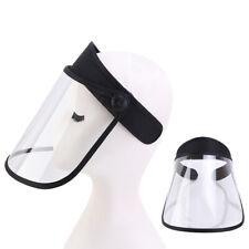 Transparent Protective Hat Protective Cap Face Mask Plastic Anti-Spitting Saliva