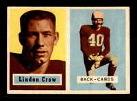 1957 Topps #91 Lindon Crow DP EXMT/EXMT+ X1558612
