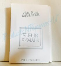 Jean Paul Gaultier Fleur du Male Eau de Toilette .04oz/1.2ml Gekrempelt Probe